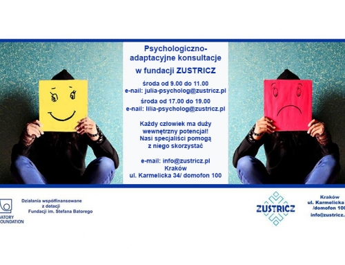 Psychologiczno-adaptacyjne konsultacje 31.07