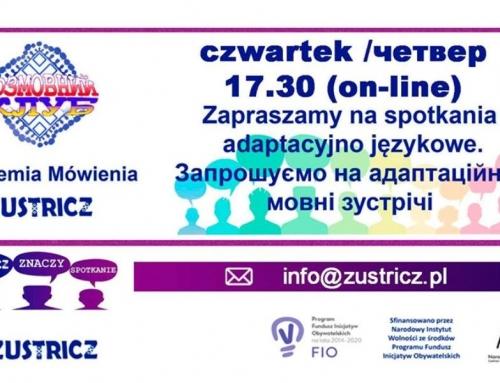 """Akademia Mówienia """"Zustricz"""" (październik 2020)"""