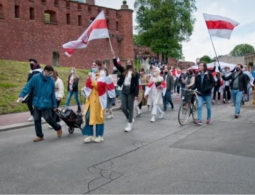 Solidarni z Białorusią. Kraków